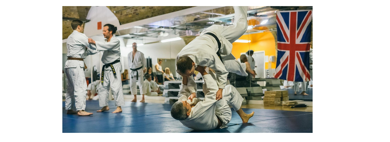 Hapkido technique performed at a martial arts grading in London