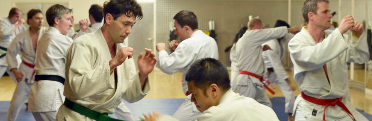 Hapkido Punching techniques at London martial arts school