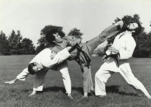 Hapkido Grandmaster Gedo Chang in the 1980's
