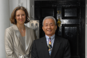 Grandmaster Chang with Master Tammy Parlour in 2007