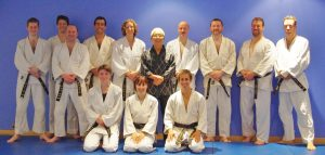 Hapkido black belts at London martial arts school