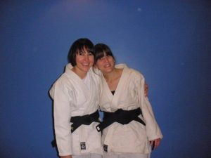 Hapkido black belts at our London martial art school