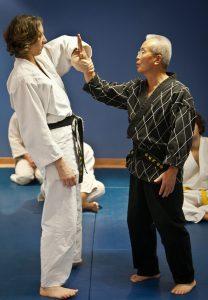 Master Parlour and Grandmaster Chang